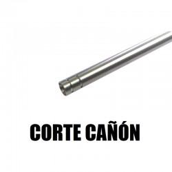 Corte de cañón a la medida deseada